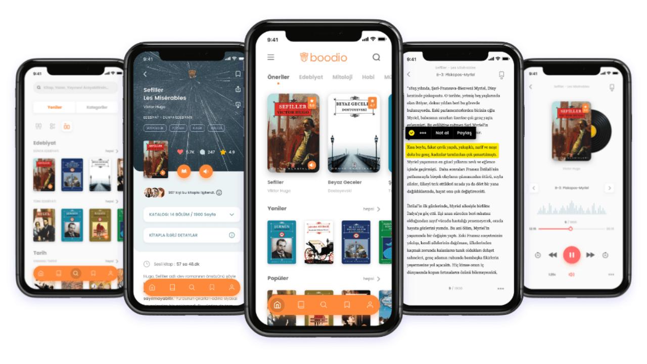 Sesli kitap uygulaması Boodio, 4 milyon TL değerleme üzerinden yatırım aldı